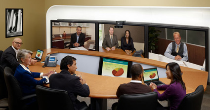 Cisco On-Stage TelePresence Experience
