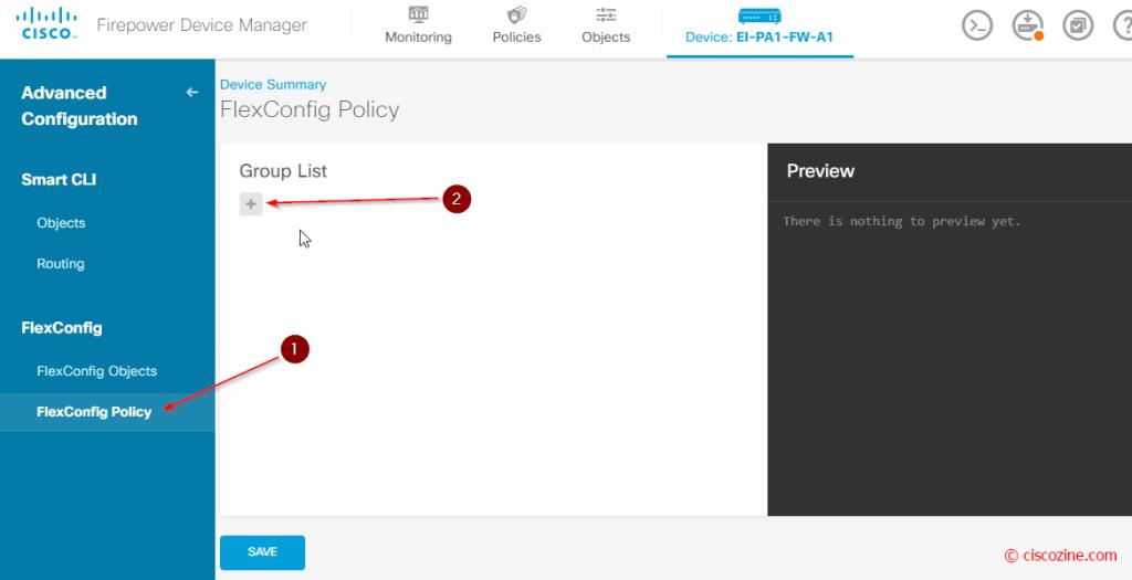Cisco-FDM-FlexConfig-Policy-1