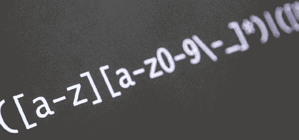 Using regular expressions with the 'Show' command